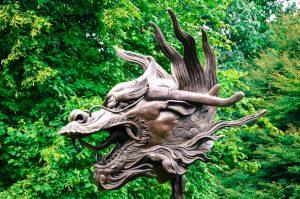 Circle of Animals / Zodiac Heads by Ai Weiwei