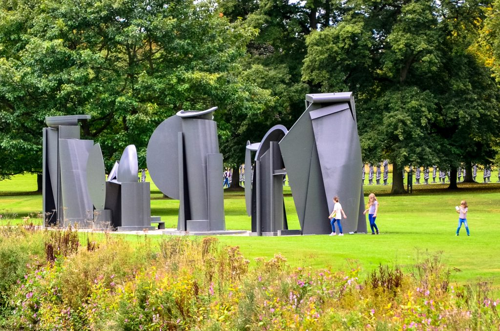 Promenade by Anthony Caro