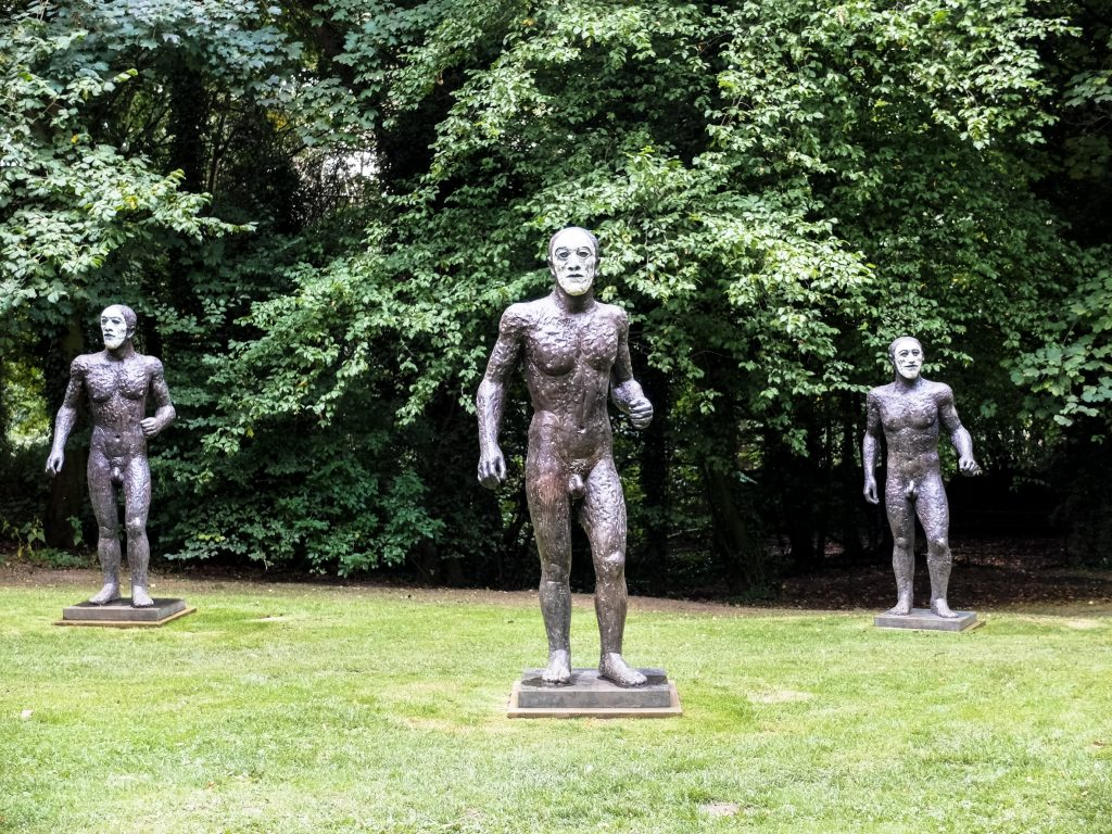 Riace Figures by Elisabeth Frink