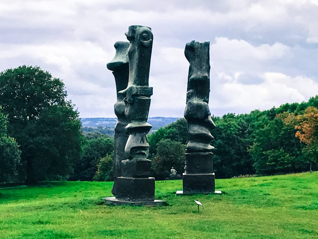 Upright Motives by Henry Moore