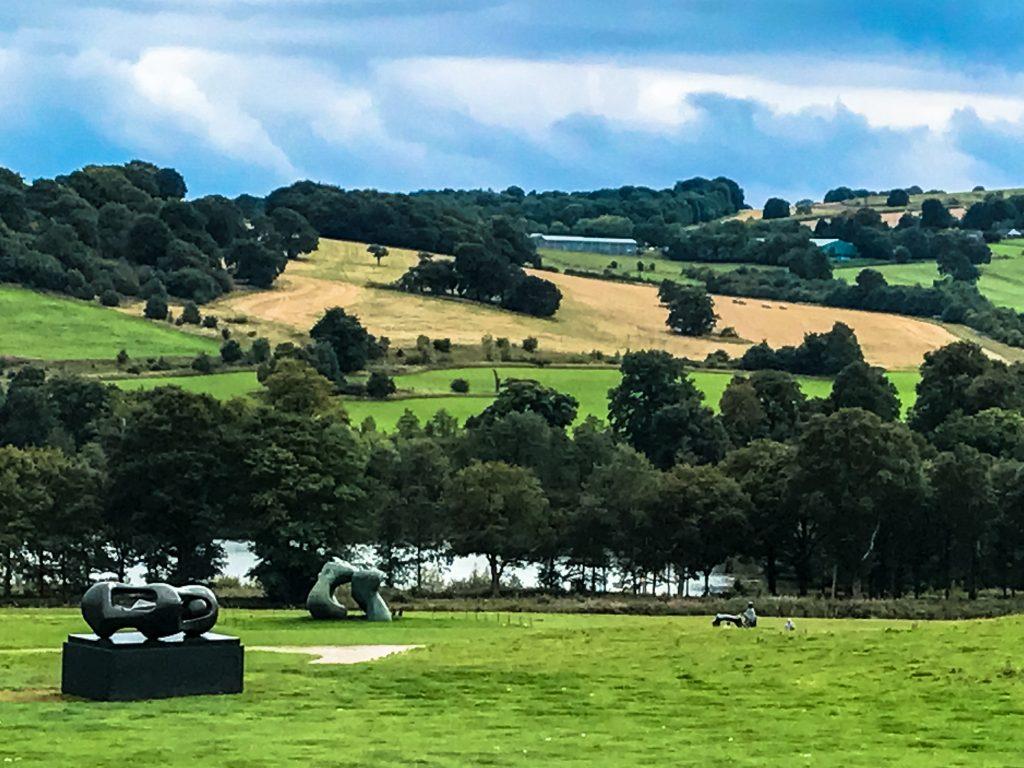Henry Moore im Yorkshire Sculpture Park