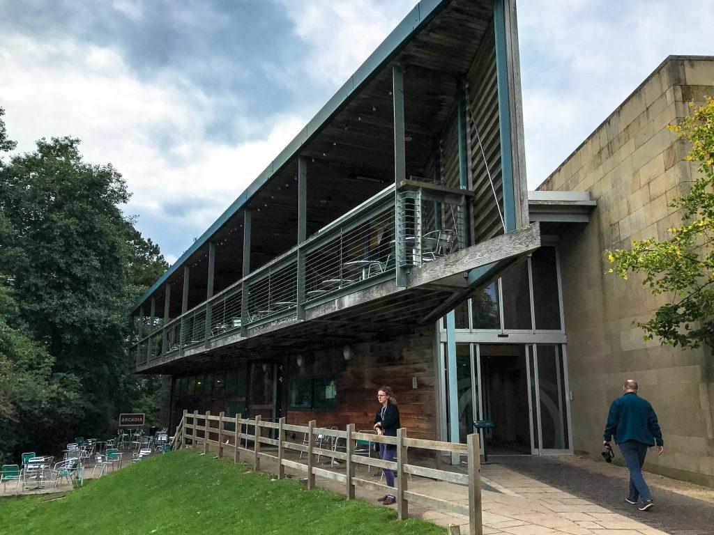 Visitor Centre Yorkshire Sculpture Park